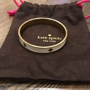 Kate Spade spot the spade bangle with dust bag